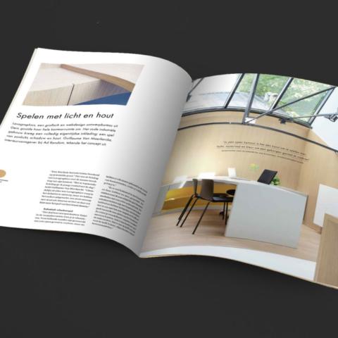 Unilin magazine - Unilin Evola Inspirations - inside