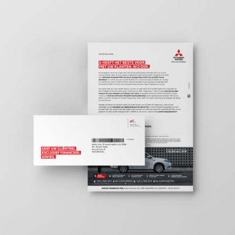 Mitsubishi-targeting-Direct Mail-1