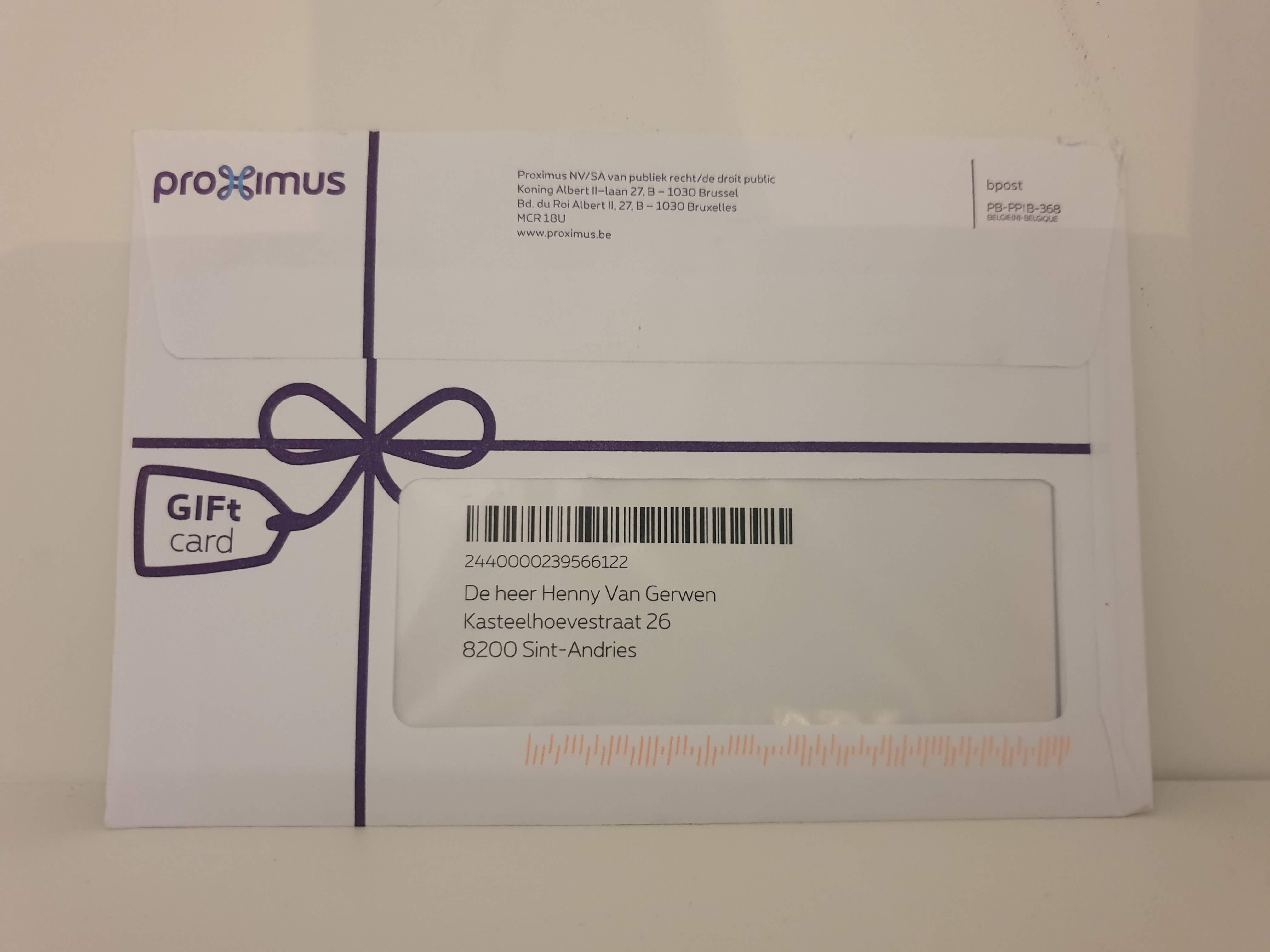 Proximus-Birthdaycard-Momentum-RelationalMarketing
