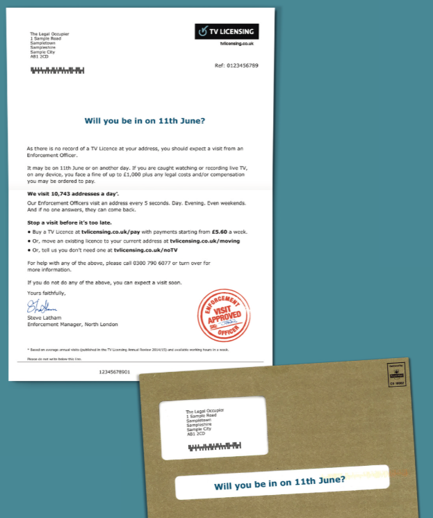 tv-licensing-activation-direct-mail