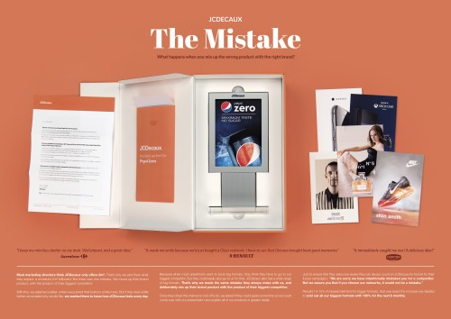 Board JCDecaux The Mistake Directory